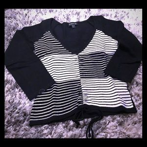 Bebe cropped sweater